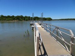 Fishing pier. Lake Brownwood State Park, TX