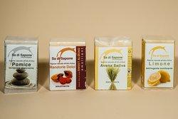 I nostri saponi artigianali realizzati solo con ingredienti naturali