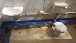 Sea View Cabin - Western style bathroom