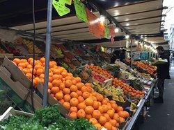 Fruit at market.