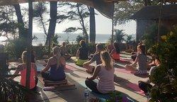 Yoga at Peace Garden