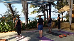 Yoga Shala with a view!