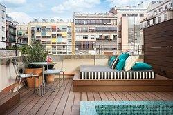 Premium con terraza