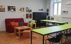 You need a quiet place to work, read or just relax...enjoy our Coworking space with free Wi-Fi