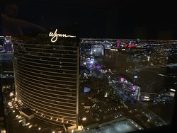 View from Encore to the Wynn and the strip.