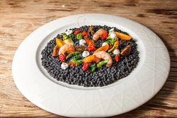 Discover black fregula and many other rare local specialities