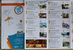 Les infos touristiques de la région