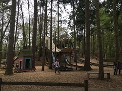 Bewilderwood - Great day out in fresh air all day whatever the weather!