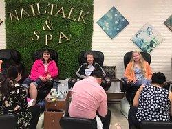 Nail Talk and Polished Spa