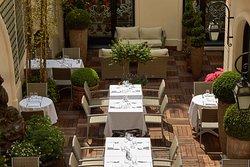 Restaurant Boudoir - Terrasse