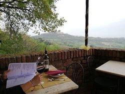 Pranzo romantico in terrazza