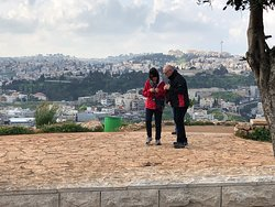 Overlooking Nazareth.