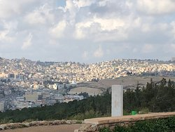 Nazareth as seen from the top.