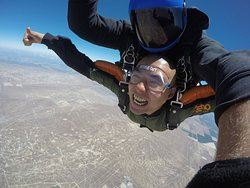 Tandem skydive with Skydive Taft.