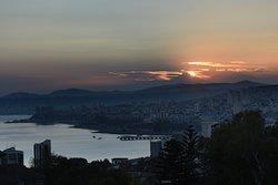 Sunrise over Valparaiso