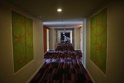 Foto 17 Juni 2018, lorong kamar di lantai 12 :)