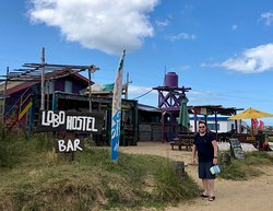 Cabo Polonio is a bohemian town and the only way to get there is by taking a 4X4 truck. It's a protected area. WiFi was really slow and it has lots of small cabins/houses. They have rustic restaurants and street shops. It's a beautiful peaceful place.