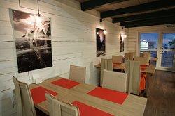 Ресторан ZIMA, обслуживание по меню Restaurant ZIMA, à la carte service