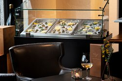 Delicious fresh local oysters available nightly.