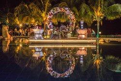 April 8, 2019 Wedding - Floating Platform