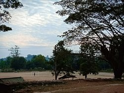 this place is in front of Palace ruins, local people said a  place of flower garden when Mrauk U era, for king and queen to watch and relax on morning or evening