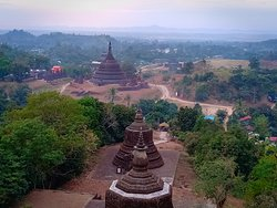 hill top view, the best view ever, Mrauk U