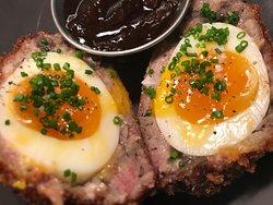 'Ploughman's ' scotch egg