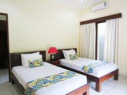 Bedroom in 2 Bedroom Private Pool  Hibiscus #02