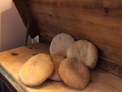 Il nostro pane fatto a mano.