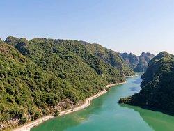 biking route to Viet Hai village