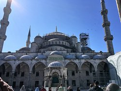 Full view of the Blue Mosque