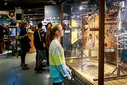 The MAD Museum. Girl watching Mech Ball