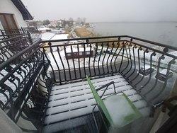 Pierwszy śnieg w kwietniu.