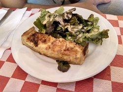Quiche Lorraine (queso+jamón york)