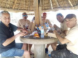 Picnic lunch in Serengeti national park