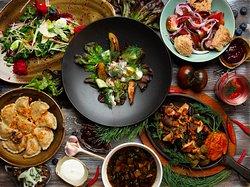 Shinok traditional Ukranian dishes