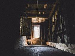 Inside barrel house