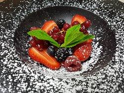 Assortiment de fruits rouge