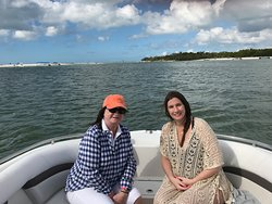 Mom and Daughter guest from New Jersey enjoying some time on the water together.