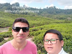 Cameron Highlands Private Day Tour. Traveler from Dubai. #taximpvkl #MAMHolidaysMalaysia #privatetoursmalaysia