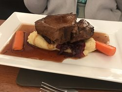 French braised beef main