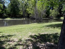 At WoodSprings Suites of East Baton Rouge has a beautiful & clean pond on the premises. Great area for relaxing and taking in the site & fresh air. The pond also has Live Turtles, Ducks, Cranes & small fishes. This area is a very comfortable atmosphere.