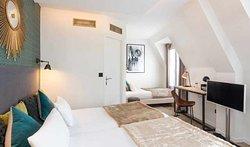 Hotel Best Western Auteuil Eiffel by HappyCulture Chambre Triple x