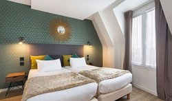 Hotel Best Western Auteuil Eiffel by HappyCulture Chambre Twin Double x