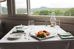 Enjoy fine dining with gorgeous views