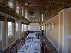 Host your next business meeting in our Sun Porch!