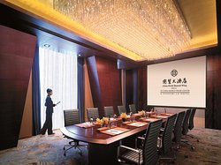 SW 31 - Boardroom Meeting Setup with staff