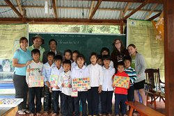Donation trip in Halong Bay 2010