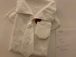 it's great to know the housekeeping staff care enough about your stay to go the extra mile with everything they do.