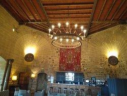 La Torre del Caracol. Cafetería del Parador.